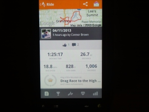 Connor Brown's Strava