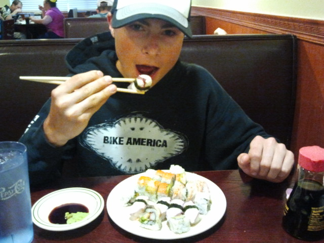 Connor Brown Sushi Time