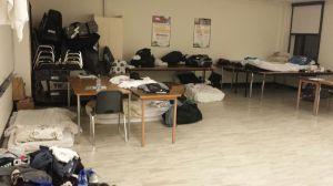 Sleeping in Class Rooms