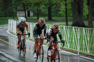 Micha and I in the break