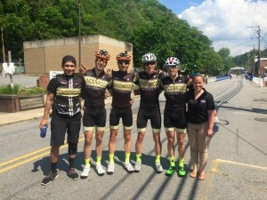 The Team at the Road Race