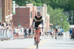 Finishing the crit for fourth at ColNats