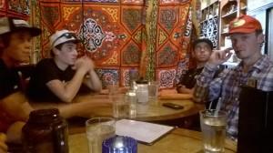 Eating Lunch at a Mediterranean Cafe (Lindenwood)